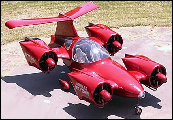 Серийный летающий автомобиль: мечта становится реальностью. ФОТО