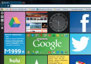 Украшаем страницу новой вкладки в Google Chrome