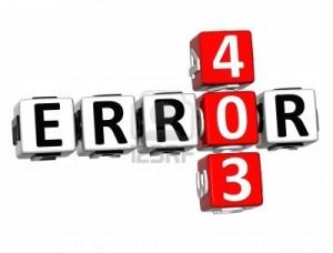 Причины возникновения ошибки 403 (Forbidden)