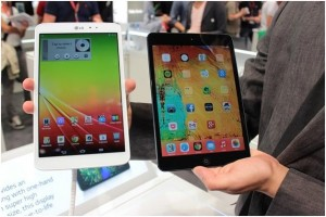 Компания LG представила планшет G Pad 8.3
