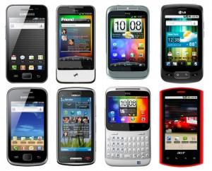 ТОП 10 самых популярных смартфонов в 2013 году
