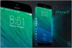 Концепт iPhone 6 с трехсторонним дисплеем