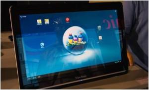 Компания ViewSonic выпустила 24-дюймовый планшет на Android