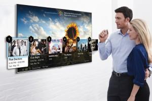 «Умные» телевизоры Samsung будут представлены на CES 2014 и смогут распознавать жесты
