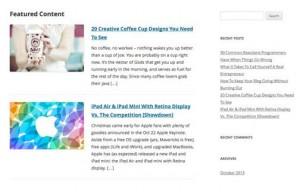 Избранный контент в WordPress