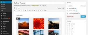 Работа с галереями в WordPress 3.9