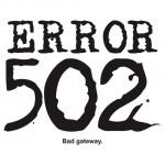 Ошибка 502