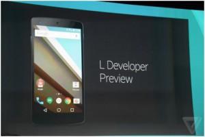 Компания Google официально представила Android L