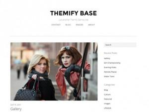 Тема Themify Base