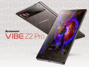 Lenovo Vibe Z2 Pro — 6-дюймовый смартфон в металлическом корпусе