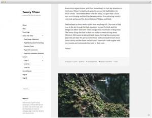Новая тема Twenty Fifteen в WordPress 4.1